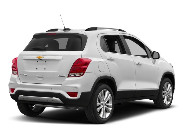 2017 Chevrolet Trax Pictures Trax AWD 4dr Premier photos side rear view