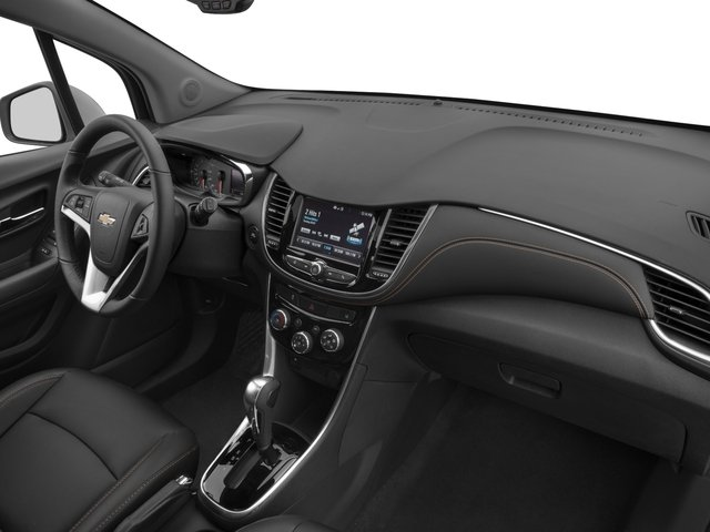 2017 Chevrolet Trax Base Price FWD 4dr Premier Pricing passenger's dashboard