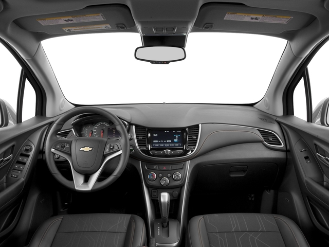 2017 Chevrolet Trax Base Price AWD 4dr LT Pricing full dashboard