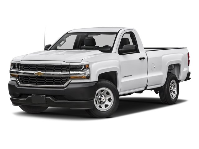 2017 Chevrolet Silverado 1500 Base Price 2WD Reg Cab 119.0 Work Truck Pricing side front view