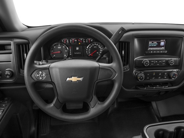 2017 Chevrolet Silverado 1500 Base Price 2WD Reg Cab 119.0 Work Truck Pricing driver's dashboard