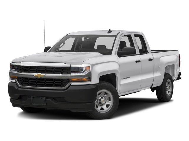 2017 Chevrolet Silverado 1500 Pictures Silverado 1500 2WD Double Cab 143.5 Work Truck photos side front view