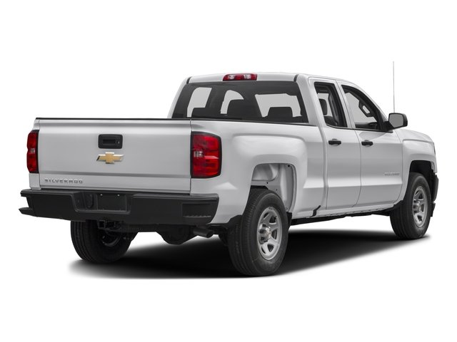 2017 Chevrolet Silverado 1500 Pictures Silverado 1500 2WD Double Cab 143.5 Work Truck photos side rear view