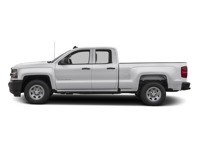 2017 Chevrolet Silverado 1500 Pictures Silverado 1500 2WD Double Cab 143.5 Work Truck photos side view