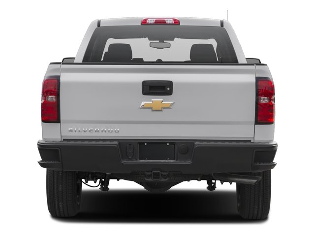 2017 Chevrolet Silverado 1500 Pictures Silverado 1500 2WD Double Cab 143.5 Work Truck photos rear view