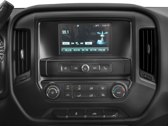 2017 Chevrolet Silverado 1500 Base Price 2WD Crew Cab 153.0 LS Pricing stereo system