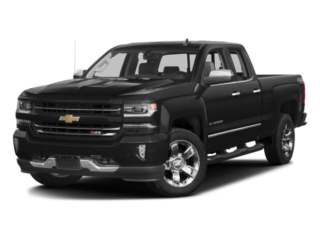 2017 Chevrolet Silverado 1500 Base Price 2WD Double Cab 143.5 LTZ w/1LZ Pricing side front view