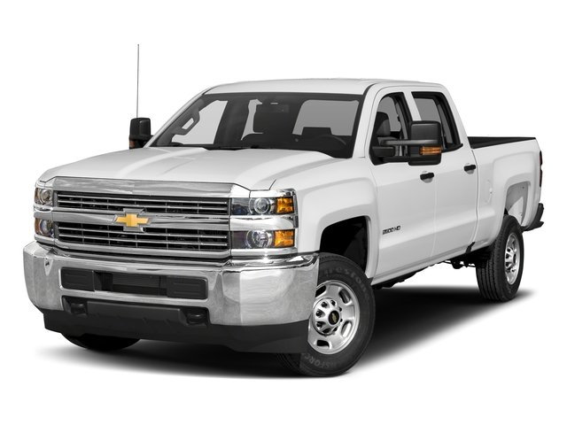 2017 Chevrolet Silverado 2500HD Base Price 2WD Crew Cab 167.7 Work Truck Pricing side front view