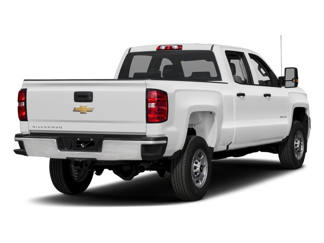 2017 Chevrolet Silverado 2500HD Base Price 2WD Crew Cab 167.7 Work Truck Pricing side rear view
