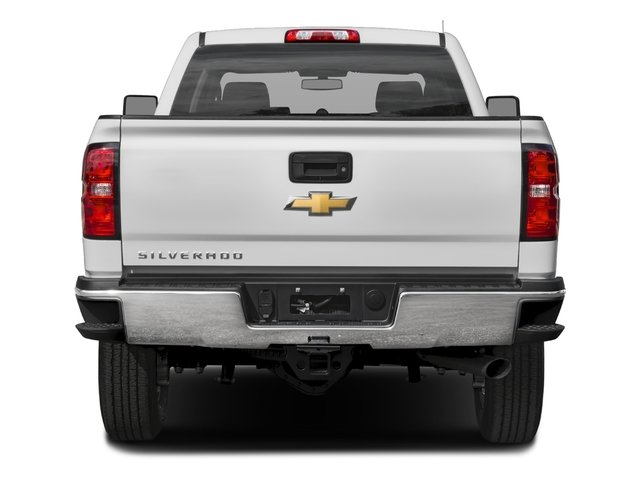 2017 Chevrolet Silverado 2500HD Base Price 2WD Crew Cab 167.7 Work Truck Pricing rear view