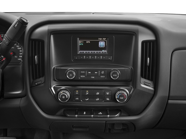 2017 Chevrolet Silverado 3500HD Base Price 4WD Crew Cab 167.7 Work Truck Pricing stereo system