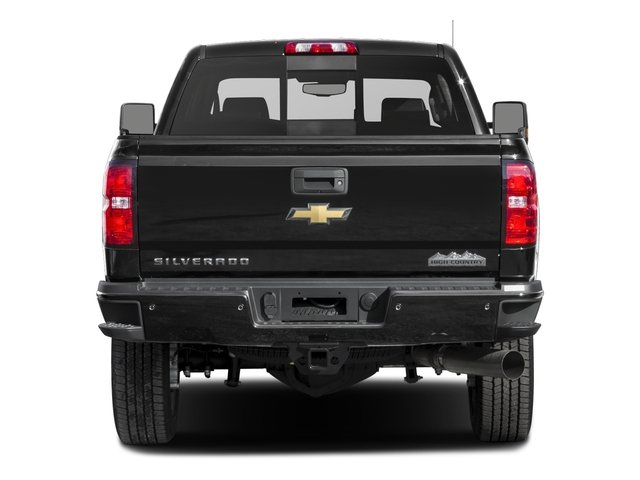 2017 Chevrolet Silverado 2500HD Base Price 4WD Crew Cab 153.7 High Country Pricing rear view