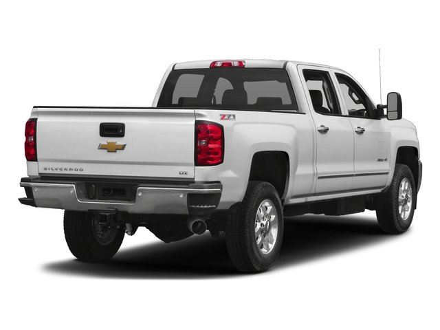 2017 Chevrolet Silverado 2500HD Base Price 4WD Crew Cab 167.7 LTZ Pricing side rear view