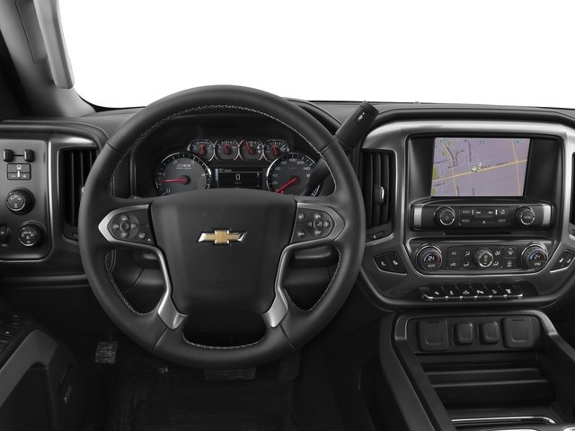 2017 Chevrolet Silverado 2500HD Base Price 4WD Crew Cab 167.7 LTZ Pricing driver's dashboard