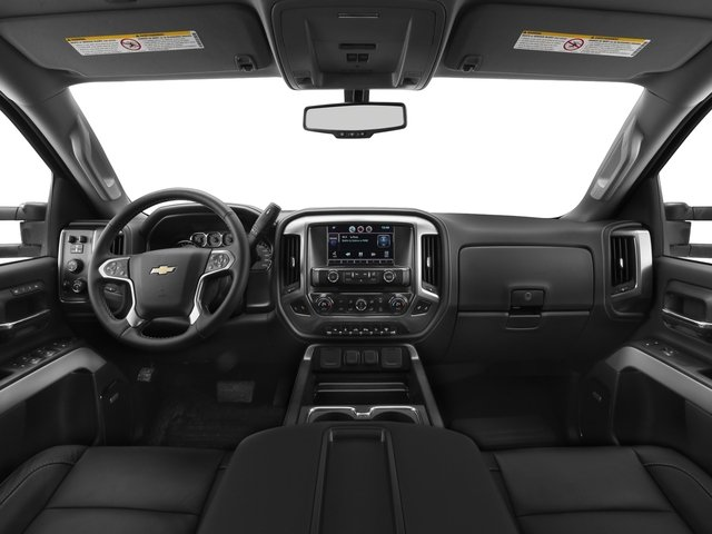 2017 Chevrolet Silverado 2500HD Base Price 4WD Crew Cab 167.7 LTZ Pricing full dashboard