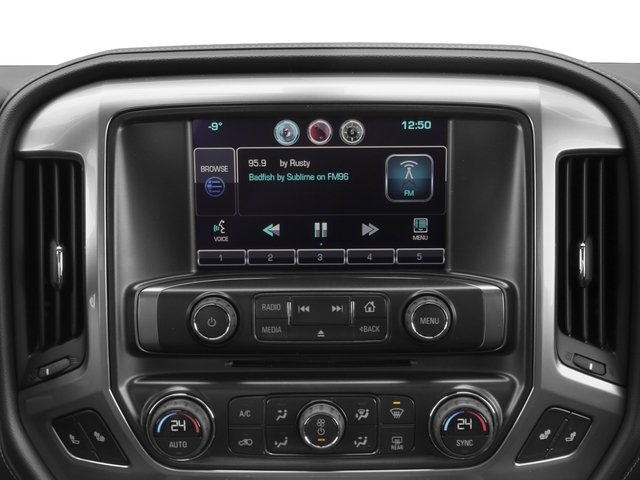 2017 Chevrolet Silverado 2500HD Base Price 4WD Crew Cab 167.7 LTZ Pricing stereo system