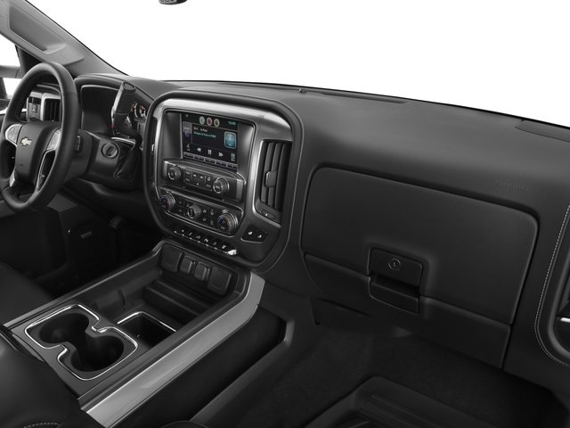 2017 Chevrolet Silverado 2500HD Base Price 4WD Crew Cab 167.7 LTZ Pricing passenger's dashboard