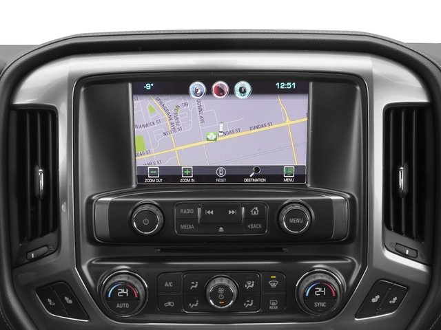2017 Chevrolet Silverado 2500HD Base Price 4WD Crew Cab 167.7 LTZ Pricing navigation system