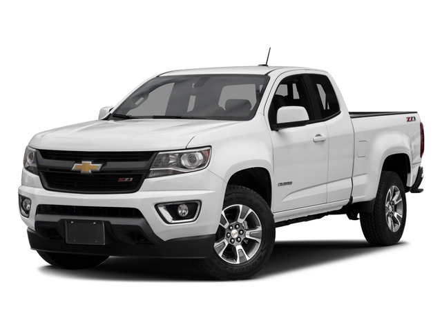 2017 Chevrolet Colorado Base Price 2WD Ext Cab 128.3 Z71 Pricing side front view