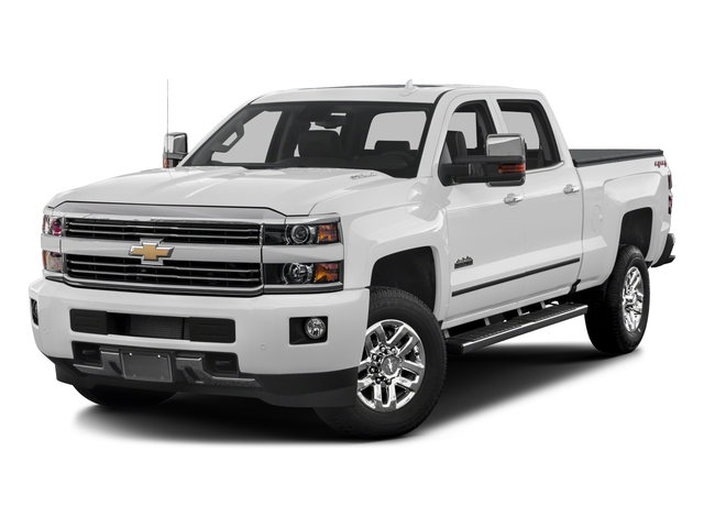 2017 Chevrolet Silverado 3500HD Pictures Silverado 3500HD 2WD Crew Cab 153.7 High Country photos side front view