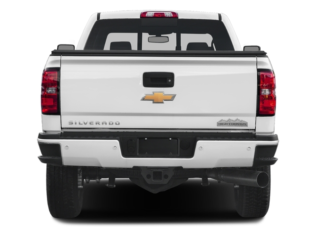 2017 Chevrolet Silverado 3500HD Pictures Silverado 3500HD 2WD Crew Cab 153.7 High Country photos rear view