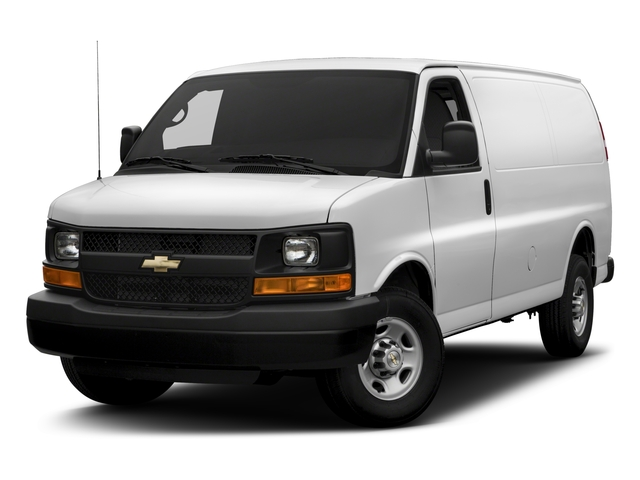 2017 Chevrolet Express Cargo Van Base Price RWD 3500 135 Pricing side front view