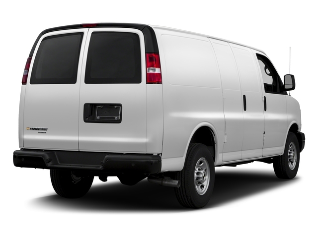 2017 Chevrolet Express Cargo Van Base Price RWD 3500 135 Pricing side rear view