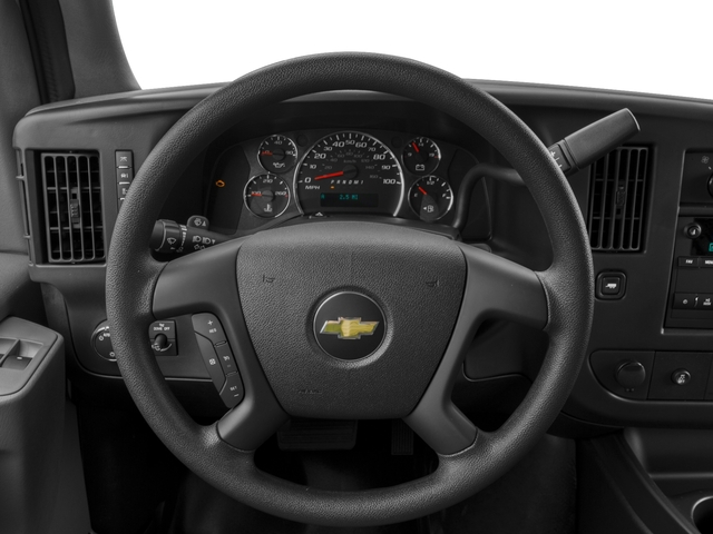 2017 Chevrolet Express Cargo Van Base Price RWD 3500 135 Pricing driver's dashboard