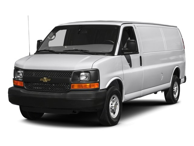 9f4f82a1cd 2017 Chevrolet Express Cargo Van Base Price RWD 2500 155 Pricing side front  view