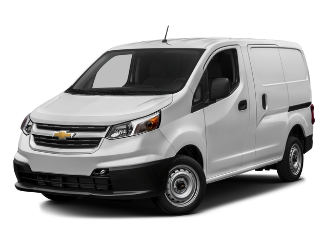 2017 Chevrolet City Express Cargo Van Base Price FWD 115 LS Pricing Side Front View