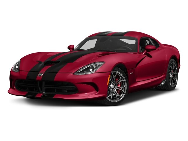 2017 Dodge Viper Base Price GT Coupe *Ltd Avail* Pricing side front view