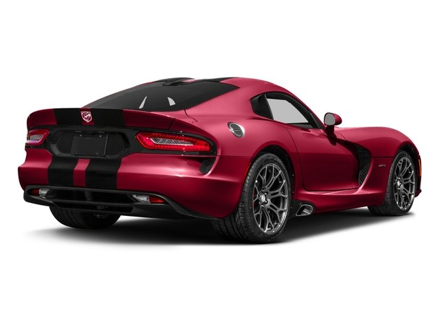 2017 Dodge Viper Base Price GT Coupe *Ltd Avail* Pricing side rear view