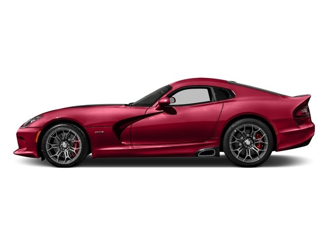 2017 Dodge Viper Base Price GT Coupe *Ltd Avail* Pricing side view