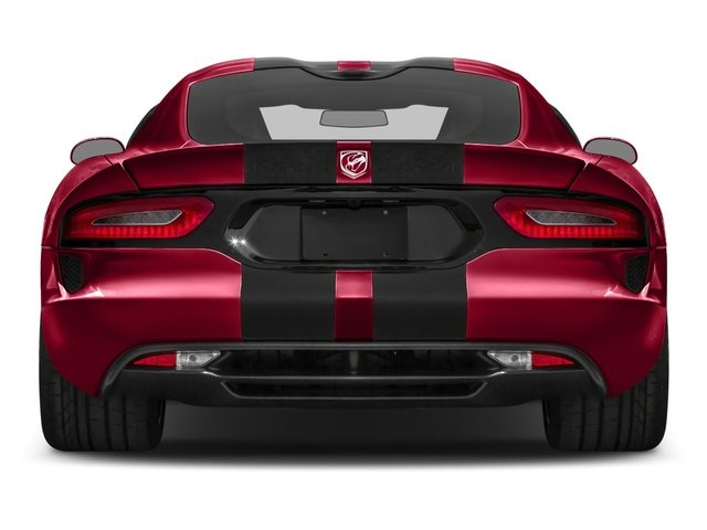 2017 Dodge Viper Base Price GT Coupe *Ltd Avail* Pricing rear view
