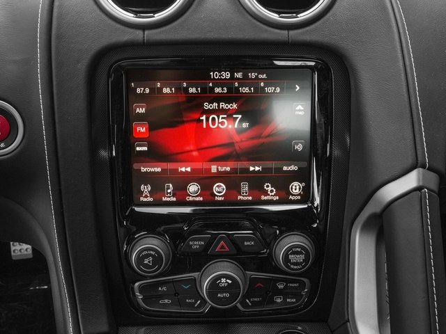 2017 Dodge Viper Base Price SRT Coupe *Ltd Avail* Pricing stereo system