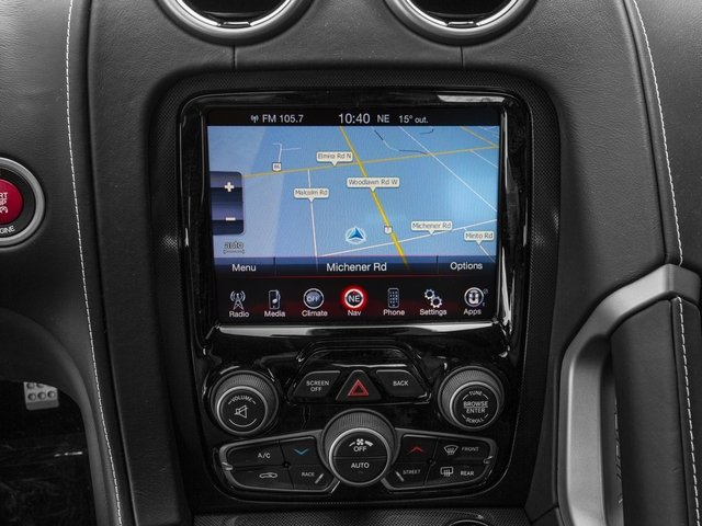 2017 Dodge Viper Pictures Viper 2 Door Coupe photos navigation system