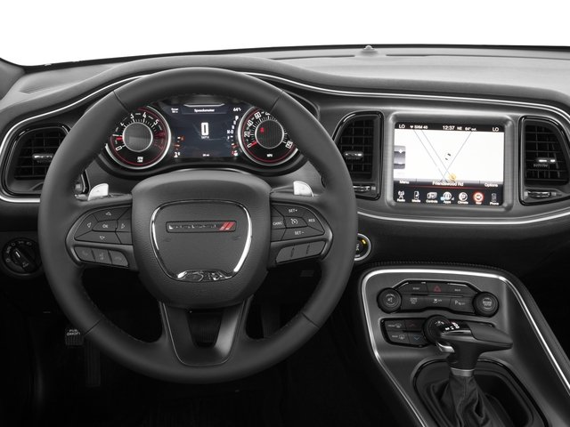 2017 Dodge Challenger Prices and Values Coupe 2D R/T Plus V8 driver's dashboard