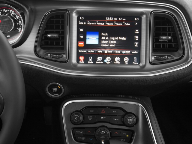 2017 Dodge Challenger Prices and Values Coupe 2D R/T Plus V8 stereo system