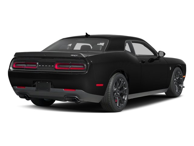 2017 Dodge Challenger Prices and Values Coupe 2D SRT Hellcat V8 Supercharged side rear view