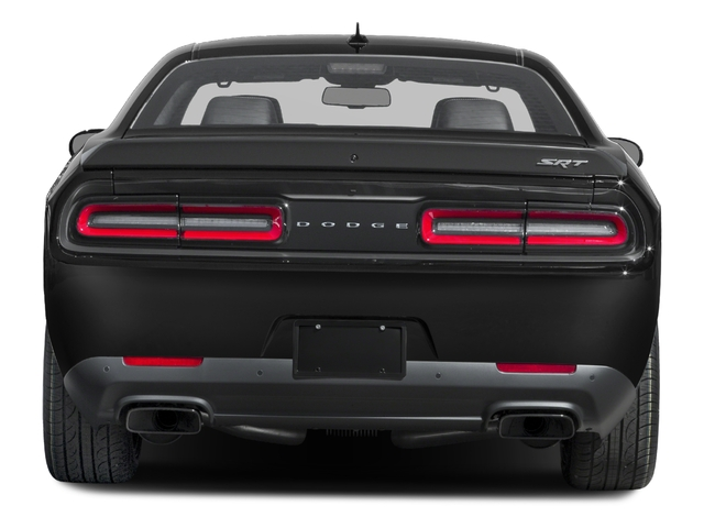 2017 Dodge Challenger Prices and Values Coupe 2D SRT Hellcat V8 Supercharged rear view