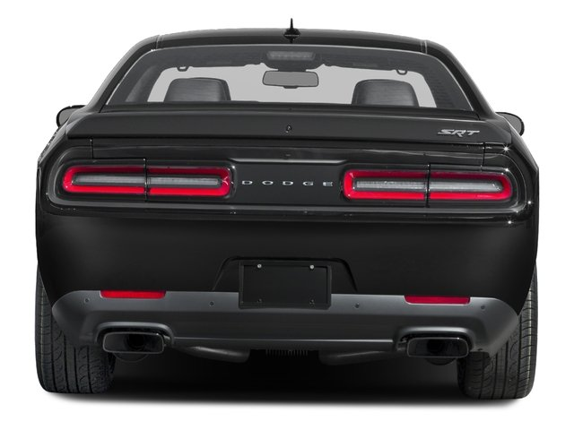 2017 Dodge Challenger Pictures Challenger SRT Hellcat Coupe photos rear view
