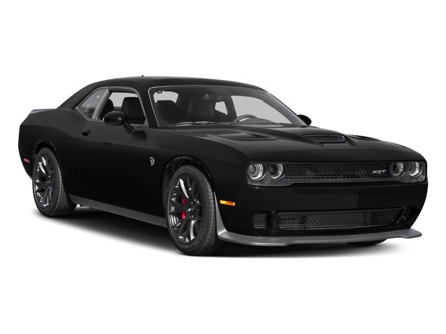 2017 Dodge Challenger Prices and Values Coupe 2D SRT Hellcat V8 Supercharged side front view
