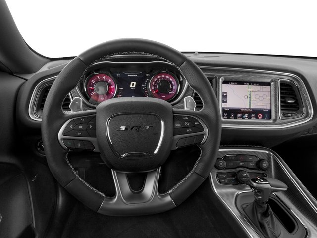2017 Dodge Challenger Base Price SRT Hellcat Coupe Pricing driver's dashboard