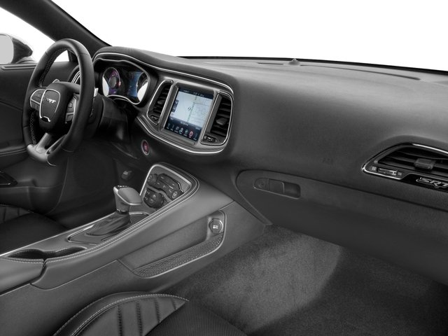 2017 Dodge Challenger Prices and Values Coupe 2D SRT Hellcat V8 Supercharged passenger's dashboard