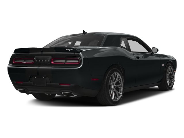 2017 Dodge Challenger Base Price SRT 392 Coupe Pricing side rear view