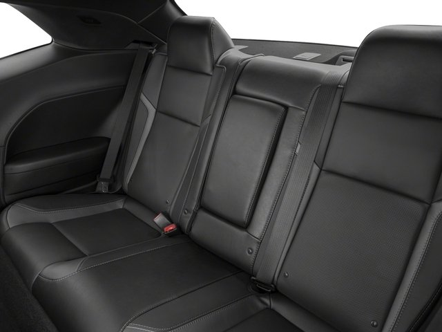 2017 Dodge Challenger Prices and Values Coupe 2D GT AWD V6 backseat interior