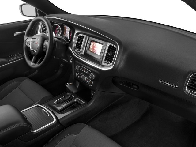 2017 Dodge Charger Base Price SE AWD Pricing passenger's dashboard