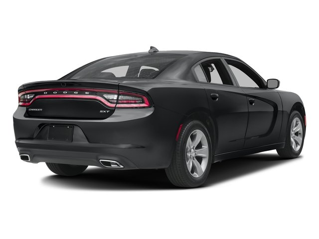 2017 Dodge Charger Pictures Charger SXT AWD photos side rear view