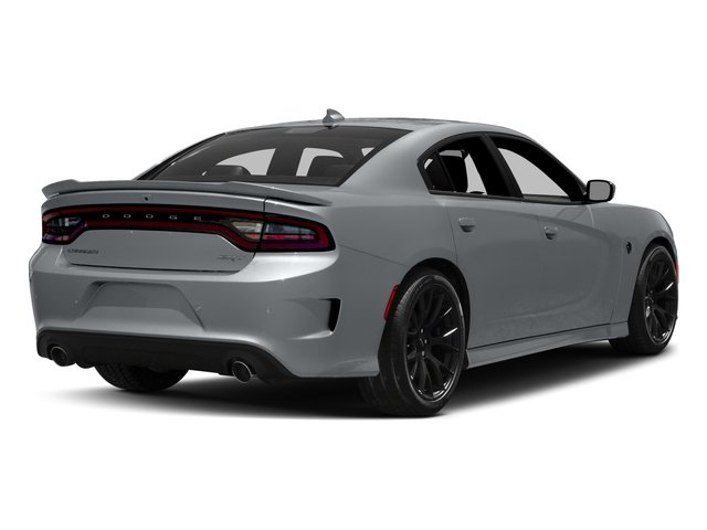 2017 Dodge Charger Pictures Charger Sedan 4D SRT Hellcat V8 Supercharged photos side rear view