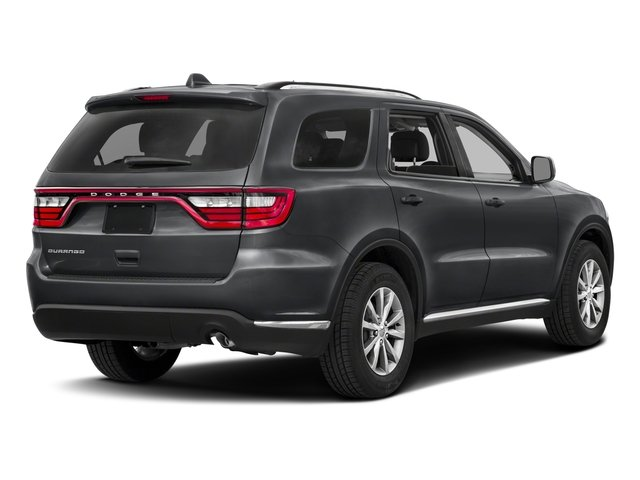 2017 Dodge Durango Base Price SXT AWD Pricing side rear view